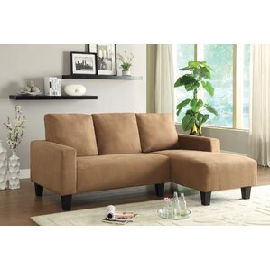 Bandy Sectional  sc 1 st  Wayfair : microfiber sectional sofas - Sectionals, Sofas & Couches