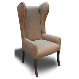 Bullion Euro Wingback Arm Chair by Red Barrel Studio