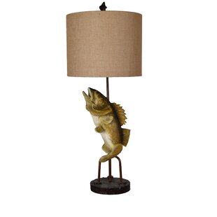 Loon Peak Chavez Fly Fish 39'' Table Lamp