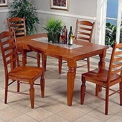 Entree Casual Dining Terra Rectangular Dining Table