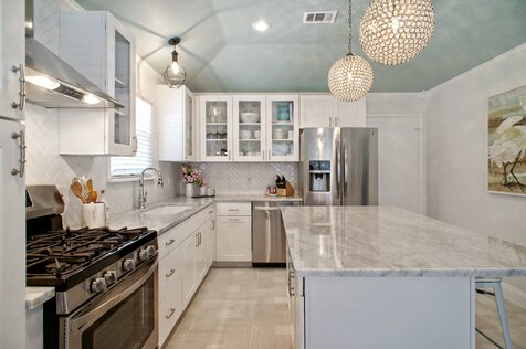 High Quality Kitchen Design. Glam Kitchen Design