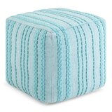 Pranay Square Pouf by Wrought Studio™
