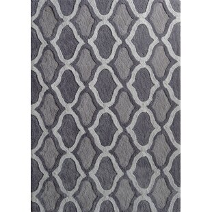 Read Reviews Moro Shag Hand-Tufted Gray Area Rug By Rug Factory Plus