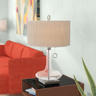Sharell Glass Table Lamp by Latitude Run
