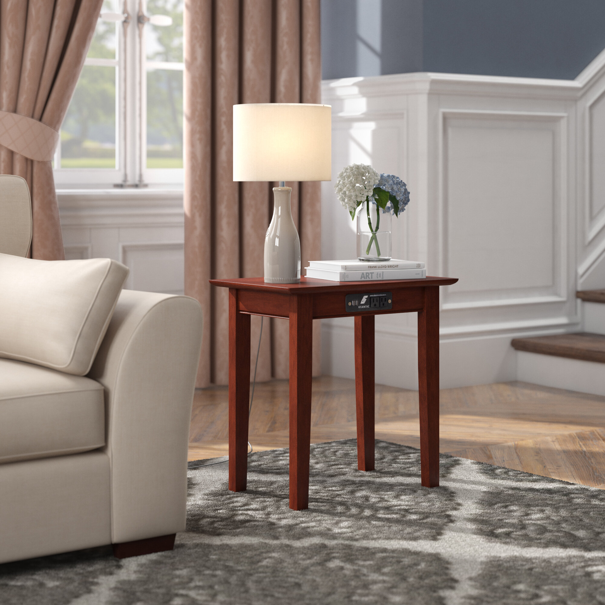 Groovy Ithaca End Table Pabps2019 Chair Design Images Pabps2019Com