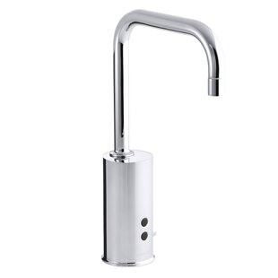 Savings Gooseneck Single-Hole Touchless Ac-Powered Commercial Faucet with Insight Technology By Kohler