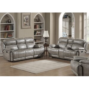 AC Pacific Estella 2 Piece Living Room Set