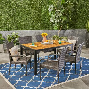 Monreal Outdoor 7 Piece Dining Set by Gra..