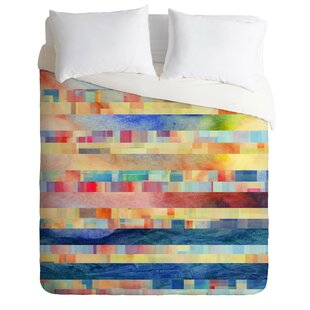 East Urban Home Amalgama Duvet Cover Set