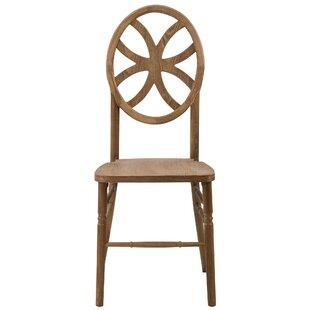 Mistana Reyna Clover Solid Wood Dining Chair