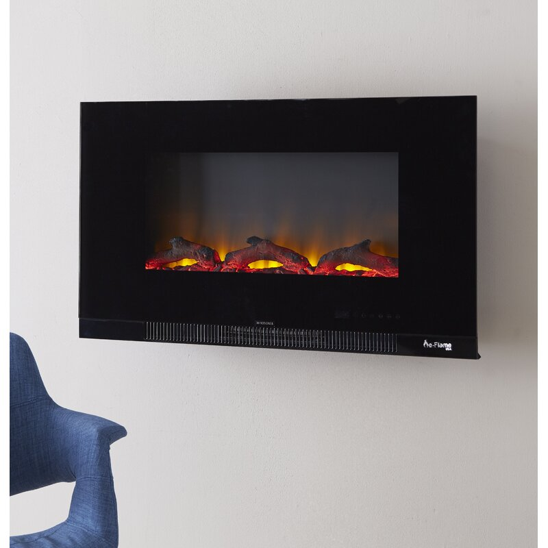 E Flame Wall Mounted Electric Fireplace Insert Reviews Wayfair