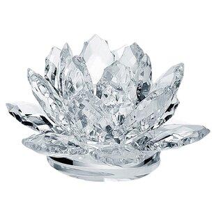Waterlily Crystal Votive Holder (Set of 2)