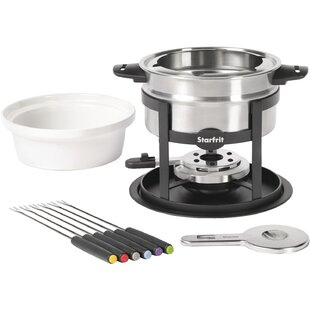 1.7 Qt. Stainless Steel Fondue Set by Starfrit Cool