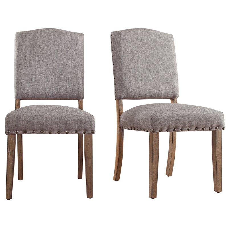 Greyleigh Ashbaugh Linen Side Chair (Set of 2)