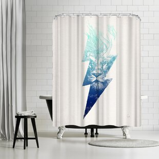 East Urban Home David Fleck King of the Clouds Shower Curtain