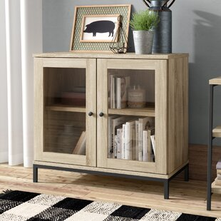 Ermont 2 Door Display Cabinet Laurel Foundry Modern Farmhouse