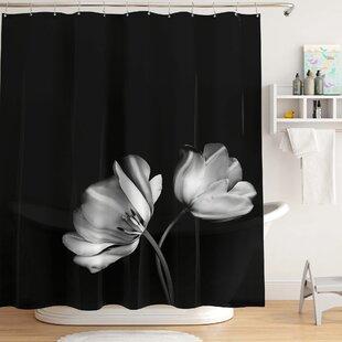 8947f139dcf PEVA Tulip Photoreal Single Shower Curtain