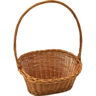 Willow Display And Gift Basket By Brambly Cottage