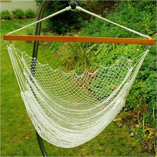 Algoma Net Company Nylon Rope Chair Hammock