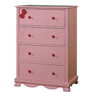 Morethampstead Kid 4 Drawer Chest by Harriet Bee