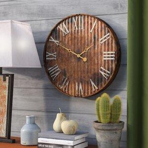living room wall clock. Metal 20  Wall Clock Clocks You ll Love Wayfair