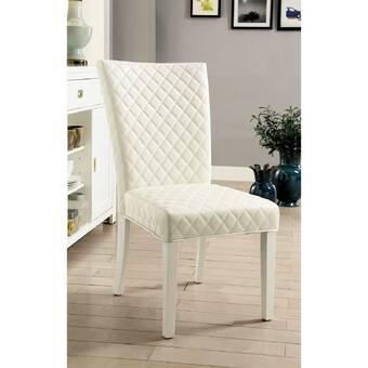 Gracie Oaks Meigs Upholstered Dining Chair Wayfair