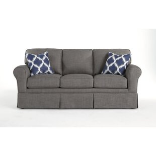 Kaylin Rolled Arm Skirted Sofa by Alcott Hill Purchase