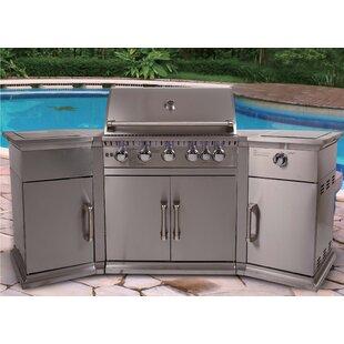 Barton 226cm Gas Barbecue By Sol 72 Outdoor