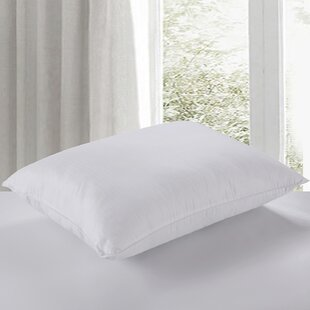 Alwyn Home 400 Thread Count Water and Stain Resistant Dobby Down Alternative Pillow