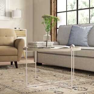 Maxfield Natural Wood And Iron Round Coffee Table By Norden Home