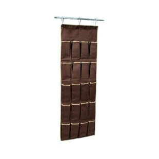 Rebrilliant 20 Pair Hanging Shoe Organizer