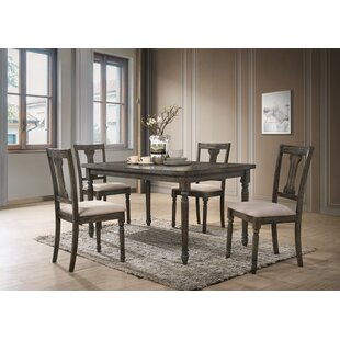 Neal 5 Piece Dining Set Gracie Oaks
