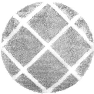 Salcedo Gray Area Rug by Wrought Studio