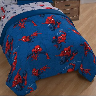 Marvel Spiderman Spidey Crawl Single Reversible Comforter