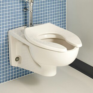 American Standard Afwall Flush 1.6 GPF Elongated Toilet Bowl