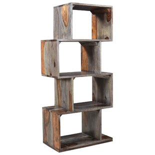 solid sheesham wood bookcase - Reclaimed Wood Bookshelves