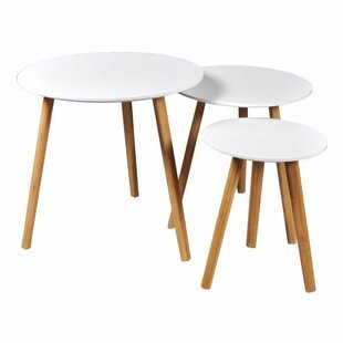 Kalyn 3 Piece Nest Of Tables By Isabelline