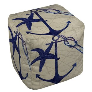 Beachcrest Home Ridgeview Cube Ottoman