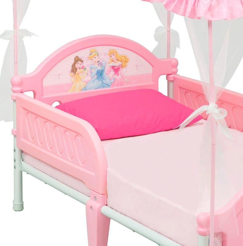 Disney Princess Toddler Bed  sc 1 st  Wayfair & Delta Children Disney Princess Toddler Bed u0026 Reviews | Wayfair