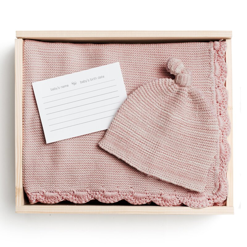 c919900f72d2 Harriet Bee Broadmoor 2 Piece Organic Baby Blanket Set