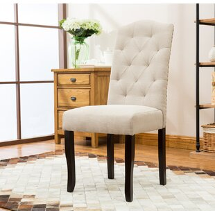 BestMasterFurniture Upholstered Dining Chair (Set of 2)