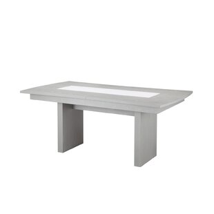 Huerta Extendable Dining Table by Orren Ellis Today Sale Only