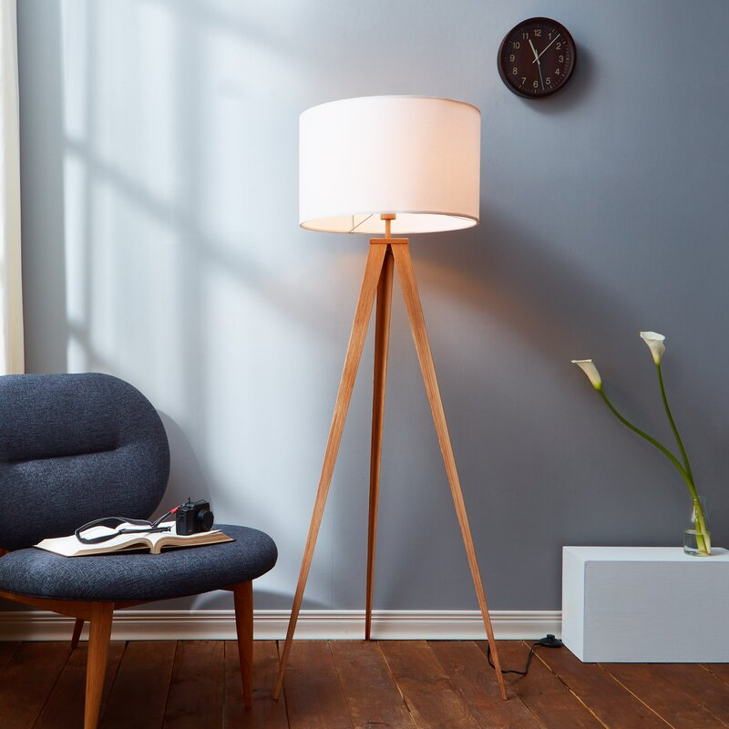 Romanza 6023 Tripod Floor Lamp