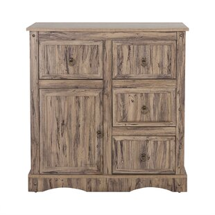 Brents 4 Drawer 1 Door Accent Cabinet