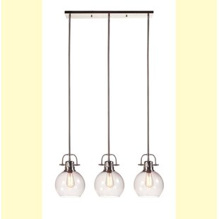 Merveilleux Burner 3 Light Kitchen Island Pendant