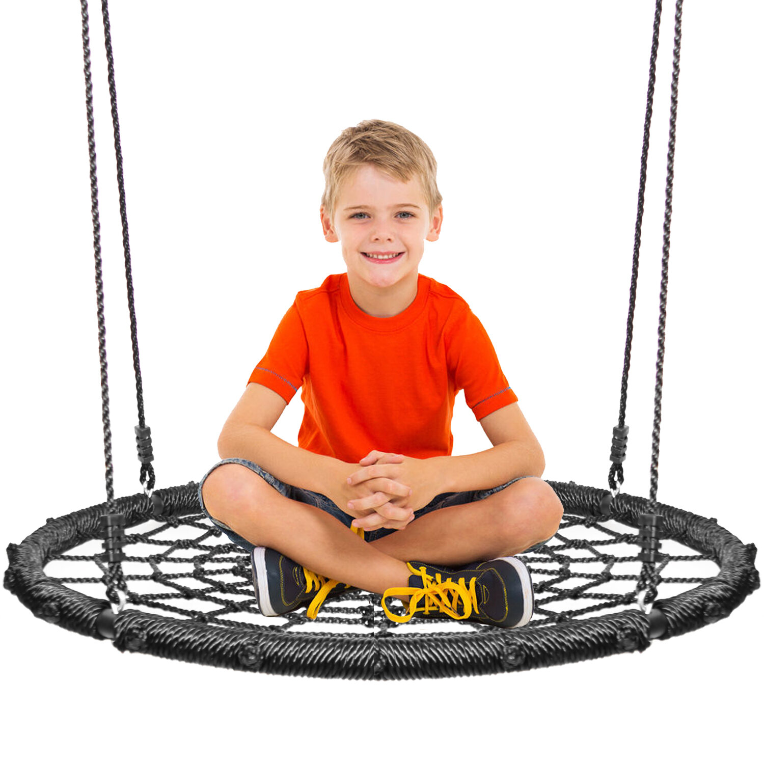Khomogear Platform Swing Seat With Chains Reviews Wayfair