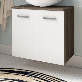 Zephyrine 60cm W X 53cm H Wall Mounted Cabinet By Mercury Row