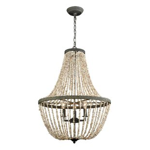 Bungalow Rose Iverson 3-Light Empire Chandelier
