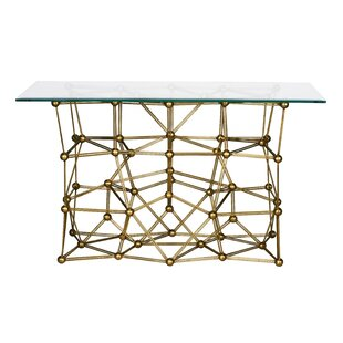 Worlds Away Iron Console Table