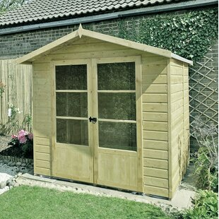 Bromwich 7 X 5 Ft. Shiplap Summer House By Sol 72 Outdoor